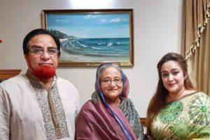 প্রধানমন্ত্রীর সাথে কুমিল্লার সদর আসনের এমপি বাহাউদ্দিন বাহারের সৌজন্য সাক্ষাৎ