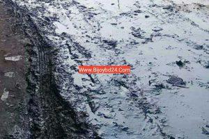 চৌদ্দগ্রামে আলকরা বাজার মুহাম্মদ আলী সড়কের বেহাল দশা