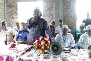 চৌদ্দগ্রাম বাবুর্চি মাদ্রাসার নতুন ভবন উদ্বোধন করলেন হাবিবুল্লাহ কাঁচপুরী