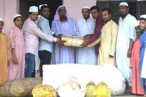 কুমিল্লায় কোবা'র উদ্যোগে এতিমখানায় ইফতার সামগ্রী বিতরণ