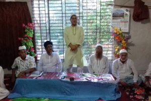 চৌদ্দগ্রাম শ্রীপুর জামেয়া মাদানিয়া মাদ্রাসায় ইফতার মাহফিল অনুষ্ঠিত