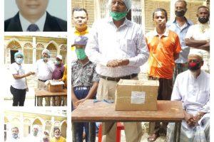 চৌদ্দগ্রামের মানবতার ফেরিওয়ালা ডাঃ আনোয়ার হোসেন : এবার ৪৫০ পরিবারে ঔষধ বিতরণ