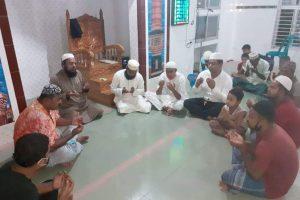 চৌদ্দগ্রামে মেয়র মিজানুর রহমানের সুস্থ্যতা কামনায় বিশেষ দোয়া মাহফিল অনুষ্ঠিত